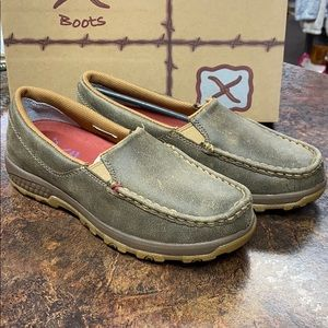 NEW Twisted X CellStretch Casual Slip On Driving